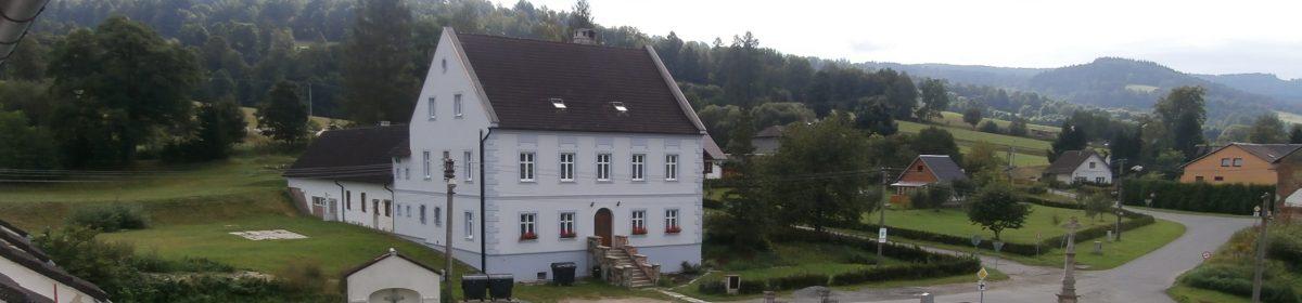 Ubytování na faře v Sobotíně